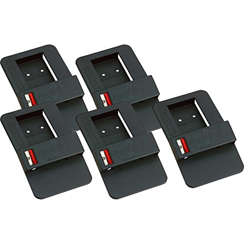 FastCap SPEEDCLIP Speed Clip Tape Measure Belt Clip and Pencil Holder, 5-Pack