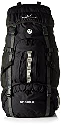 Black Crevice Adult Backpack Explorer, Black, 60