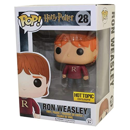 "Nologo YYBB Pop!Film ""Harry und der Stein der Weisen"" Ron Weasley Pullover Hot Topic Exclusive Action-Figur for die Sammlung Figuren Anime Geschenke Spielzeug 3,75"