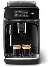 Philips 2200-serien EP2221/40 kaffeautomat, 2 kaffespecialiteter, svart/pianolack-svart