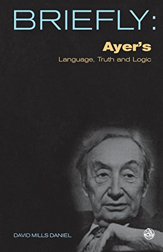Briefly: Ayer's Language, Truth and Logic