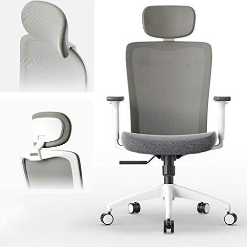 Daily Equipment Chairs Bequemer Net Fabric Chair Schreibtischstuhl mit Armlehne und kippbarer, höhenverstellbarer Lordosenstütze