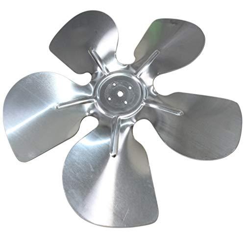 AERZETIX: Hélice Pala del Ventilador Aluminio Ø200mm 28° - Presión - Izquierda - C43417