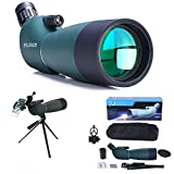 Best Hunting Spotting Scopes - Monocular Telescope 25-75x70 High Clarity Spotting Scope Review