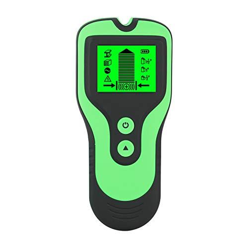 Detector de metales 3 en 1 KKmoon Detector de metales Pantalla LCD Sensores de perno Escáner Detector de cables en vivo de voltaje CA Herramienta de utilidad multifunción