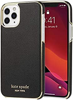 Kate Spade New York Wrap Case for iPhone 11 Pro - Pale Vellum PVC/Gold PC/Gold Logo