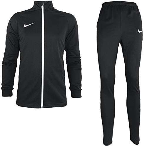 Nike Herren Dry Academy Trainingsanzug, Black/Black/White/White, 2XL