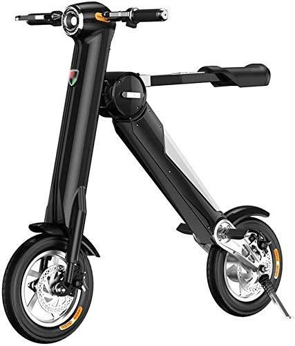 Adulto Scooter Eléctrico Scooter Eléctrico Scooter Eléctrico Plegable Bicicleta Eléctrica, Portátil De...