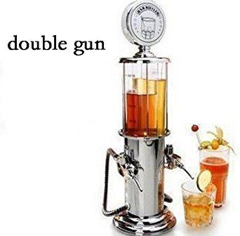 ActionFly Gun Barware Mini Beer Pourer Water Liquid Drink Dispenser Wine Pump Dispenser Machine (Double Gun)