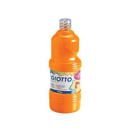 Giotto 533405 Tempera Pronta, 1000 ml, Arancio