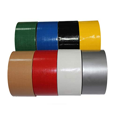 GUOJIAYI 10M 2 / 5cm Tape Waterproof Adhesive Tape Cloth Tape Single-Sided Carpet Tape