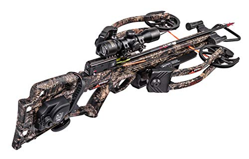 Wicked Ridge RDX 400 Crossbow with Acudraw Pro, Pro View Scope, Package