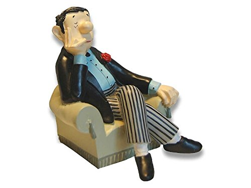 Buchstütze Loriot - Herr im Sessel