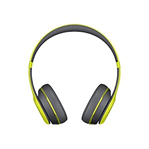 Beats Solo2 Wireless On-Ear Headphone, Active Collection - Shock Yellow