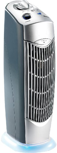 newgen medicals Luftverbesserer: Professioneller 4in1-Luftreiniger mit Ionisator, für Räume bis 20 m² (Rauchverzehrer)