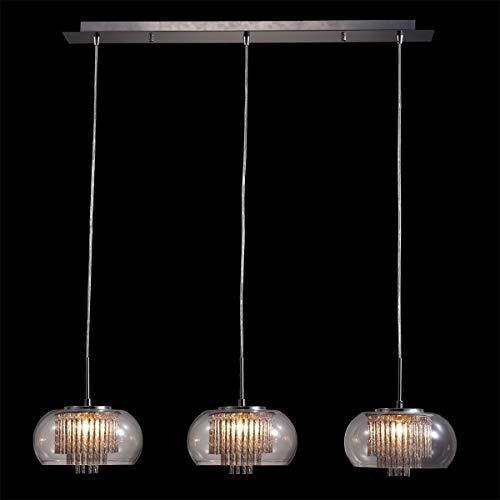 Lámpara de techo moderna 3 x 33 W/G9 MEDUSA 33103 Luxera