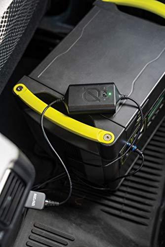 Goal Zero Reguliertes Lithium-Yeti-Auto-Ladegerät zum sicheren und effizienten Laden eines Goal Zero Yeti von Einer 12-V-Stromquelle mit Einer schützenden 15-A-austauschbaren Sicherung