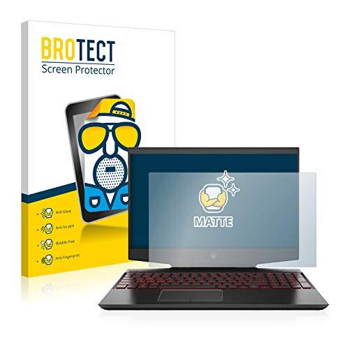 BROTECT Entspiegelungs-Schutzfolie kompatibel mit HP Omen 15-dh0210ng Bildschirmschutz-Folie Matt, Anti-Reflex, Anti-Fingerprint