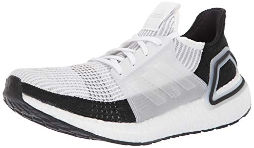 adidas Mens Ultraboost 19 White Size: 8 UK