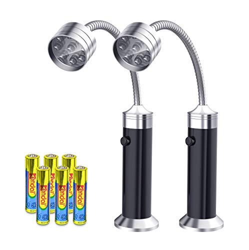 FIREOR Barbecue Grill Light Magnetic Base Super-Bright LED BBQ Lights - 360 Degree Flexible...