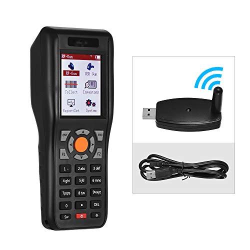 Wenhu PDT Barcode Scanner Data Collector 433MHz sans Fil et USB Inventaire Data Terminal Filaire 1D Barcode avec 2,2 Pouces TFT écran Couleur