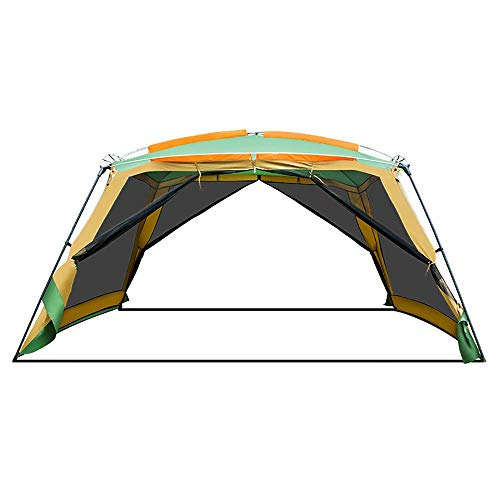 WEIFAN CAI- Explorer Outdoor pergola, Camping 8-10 People Barbecue Awning, Portable Folding Beach Canopy Rain Tent