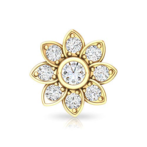Rosec Jewels 18k Yellow-oro. Runde Diamond