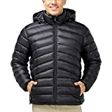 MIER Men's Packable Hooded Puffer Jacket...