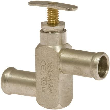 Sales results Dedication No. 1 HEATER VALVE 5 8in UNIVERSAL MANUAL TYPE