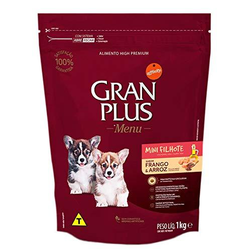 Ração para Cães Filhotes Mini Gran Plus Menu Frango e Arroz 10,1Kg