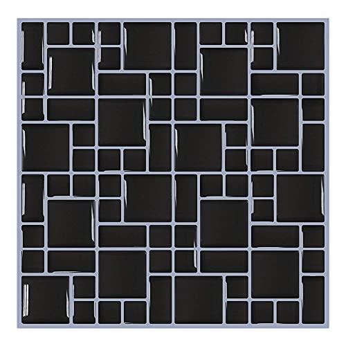 PMSMT Nueva Tendencia de Vinilo Autoadhesivo Impermeable azulejo de Pared de ladrillo 3D Papeles de Pared para baño decoración del hogar Pegatinas de Pared calcomanías