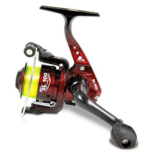 Lineaeffe Mulinello da Pesca Imbobinato Vigor SL FD 200 con Frizione Anteriore Precisa e Potente da Spinning Bolognese Feeder Fondo Mare Trota Lago Leggero e Affidabile