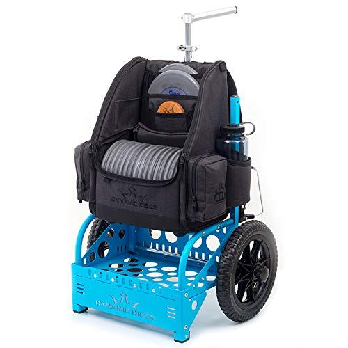 Dynamic Discs EZ Disc Golf Cart by ZÜCA | Fits Large Specialized...