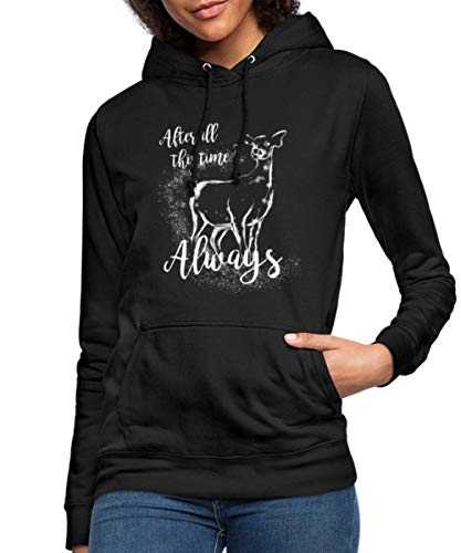 Harry Potter After All This Time Always Frauen Hoodie, M, Schwarz