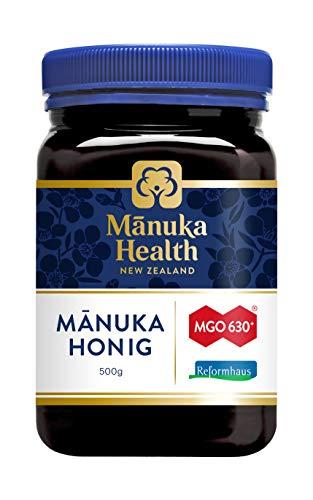 Neuseelandhaus Manuka Honig MGO630+ 500g (zzgl. 10 Hübner Gratisproben)