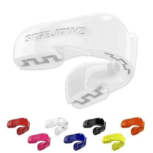 SAFEJAWZ Sport Zahnschutz Erwachsene und Kinder Sport Mundschutz Für alle Vollkontakt-Sportarten einschließlich Rugby, Kampfsport, Kickboxen, Hockey & Boxe