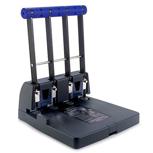 Rapesco PF4000A1 4400 Perforateur 4 Trous à Grande Capacité - Capacité de 150 Feuilles - Noir