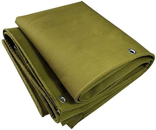 YUEDAI Espesar la Lona Lona Lona Sombra Tierra Sheet Covers Abrigo de la Tienda Impermeable Resistente al Desgaste Heavy Duty Reforzado al Aire Libre, de múltiples tamaños, 500G / M²
