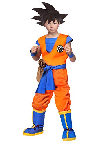 Dragon Ball Z Authentic Goku Kids Costume Small