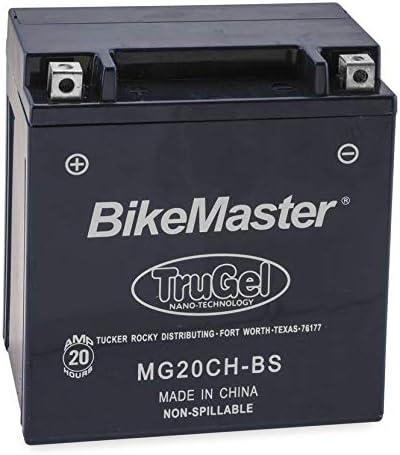New BikeMaster TruGel Max 88% OFF ATV UTV Battery - L famous Suzuki 2010-2019 Fits: