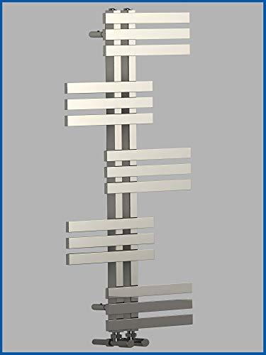 conception radiateur sèche-serviettes ELFIE 1600 x 600 mm. Chromé