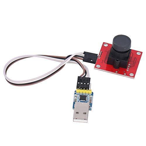 Módulo de cámara USB, módulo de cámara web estable, práctico y confiable, control automático duradero y fácil de usar, seguimiento automático para fotografía(Color image)