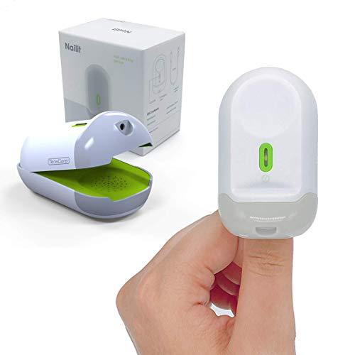 TensCare Nailit- Dispositivo Láser de doble efecto para Uñas con Hongos. Mejora notablemente la apariencia de las uñas fúngicas. USB recargable.
