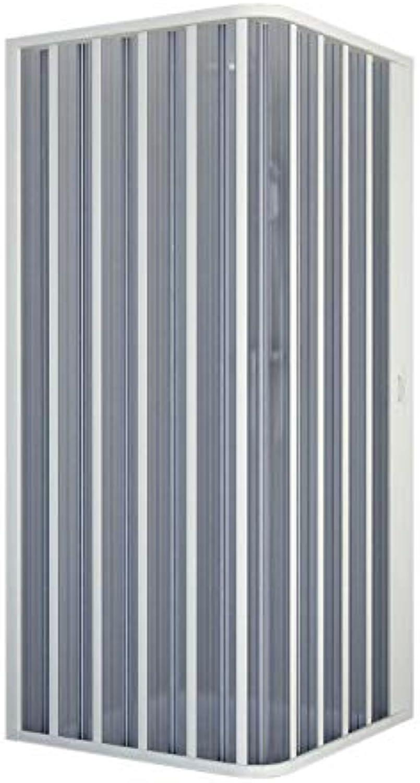 Forte Duschkabine in PVC 70x70 cm H185 mod. Energy Seitlich