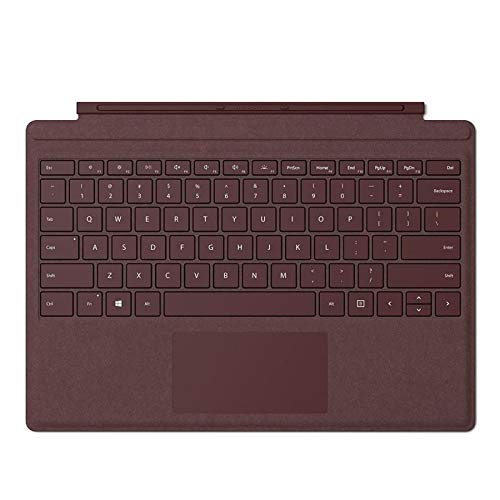 Microsoft Type Cover Keyboard for Surface Pro red burgundy