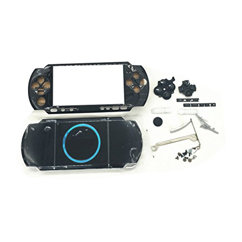 Zhhlinyuan Full Housing Faceplate Hard Case+Buttons+Screws Protector para PSP 3000 Repair Part