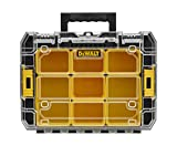 DEWALT - Caisse A Outil Organiseur Transportable Transparent TSTAK V - DWST1-71194 - Boite A Outils Vide Multi-Compartiments - Valise Outils Vide de 440 x 332 x 145 mm