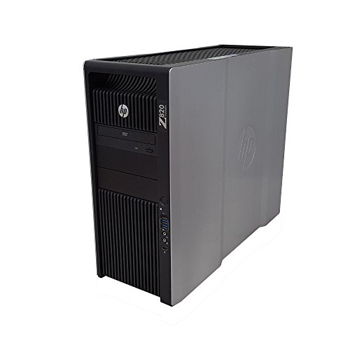 HP Z820 Workstation Intel Xeon 16 Core 2.6GHz 128GB RAM 512GB Solid State Drive + 2TB Hard Drive NVIDIA GTX 1080ti 11GB 4K Graphics CD/DVD-RW Windows 10 Pro 64-bit (Renewed)
