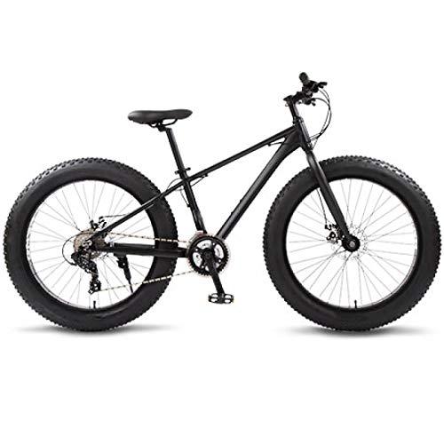Vélo de montagne, vélo de route en aluminium 26 pneus neige gros pneu 24 vitesses VTT freins à disque pour environnement urbain et trajets vers et hors travail