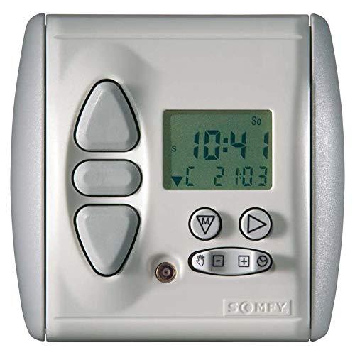 Somfy Programmschaltuhr 1805134 Chronis IB L Comfort Zeitschaltuhr für Installationsschalterprogramme 3660849562571